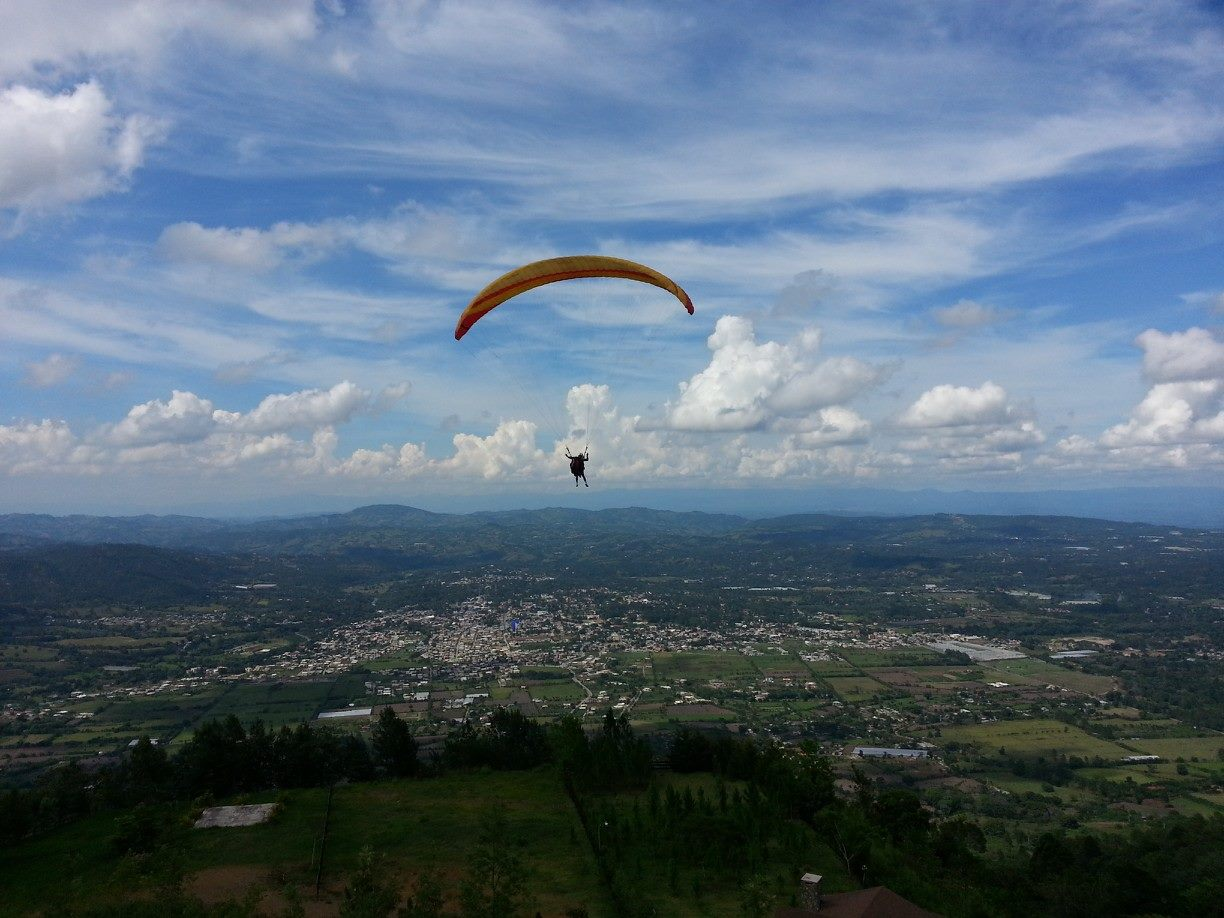 My Paragliding Experience